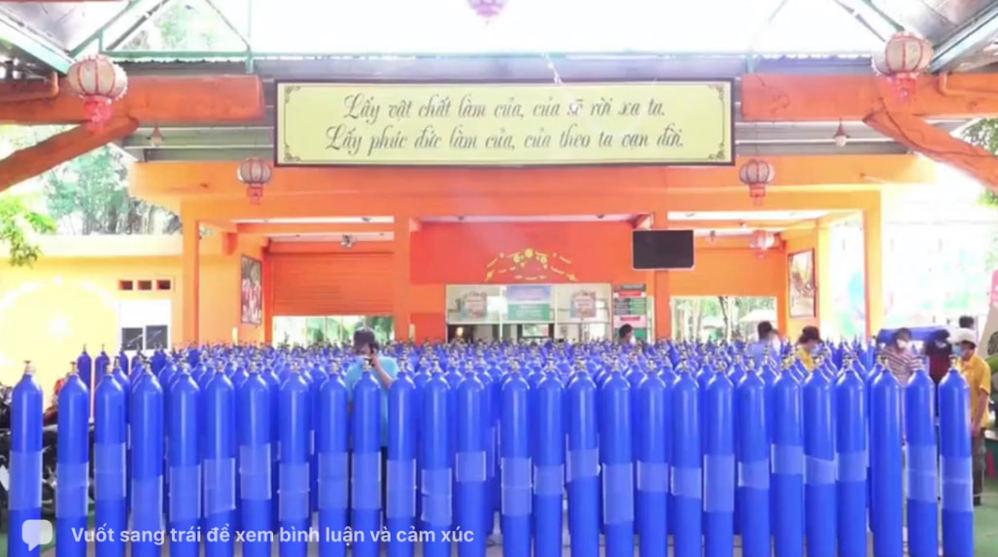 Bà Phương Hằng hỗ trợ 50.000 bình oxy miễn phí giúp người dân, chung sức vượt qua đại dịch 3