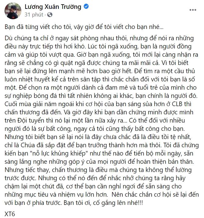 Minh Vương gặp vận đen ảnh hưởng sự nghiệp, Xuân Trường chia sẻ đẫm nước mắt động viên cậu bạn thân 3