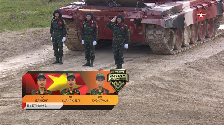 Đội tuyển xe tăng Việt Nam lập kỷ lục ngay trong trận đầu ra quân tại Army Games 2021 2