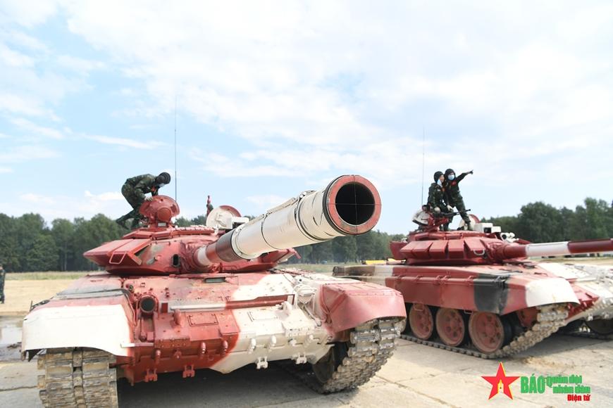 Đội tuyển xe tăng Việt Nam lập kỷ lục ngay trong trận đầu ra quân tại Army Games 2021 1