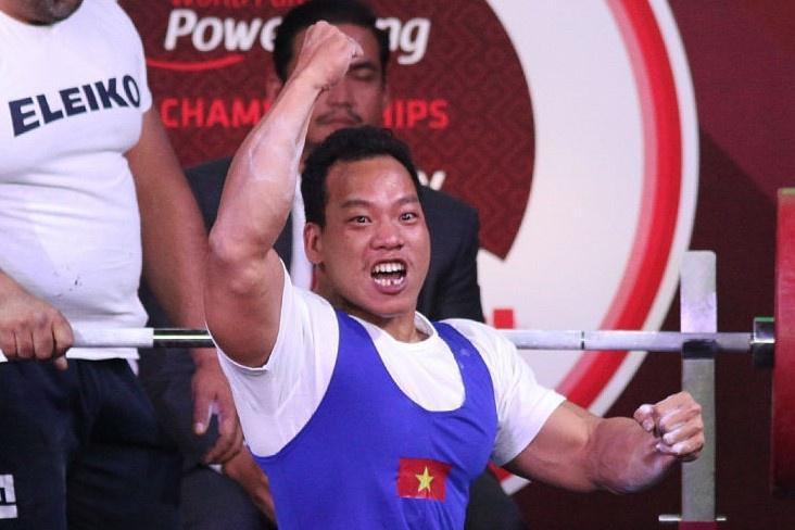 VĐV cử tạ Việt Nam thi đấu xuất thần, đem về tấm Huy chương bạc tại Paralympic 1
