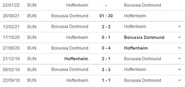 Nhận định Dortmund vs Hoffenheim, 01h30 ngày 28/08: Vòng 3 Bundesliga  6