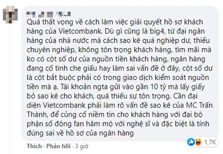 Công Vinh - Thủy Tiên biến Vietcombank thành 'sân khấu' livestream, đến lượt fanpage ngân hàng bị dân mạng tấn công 2