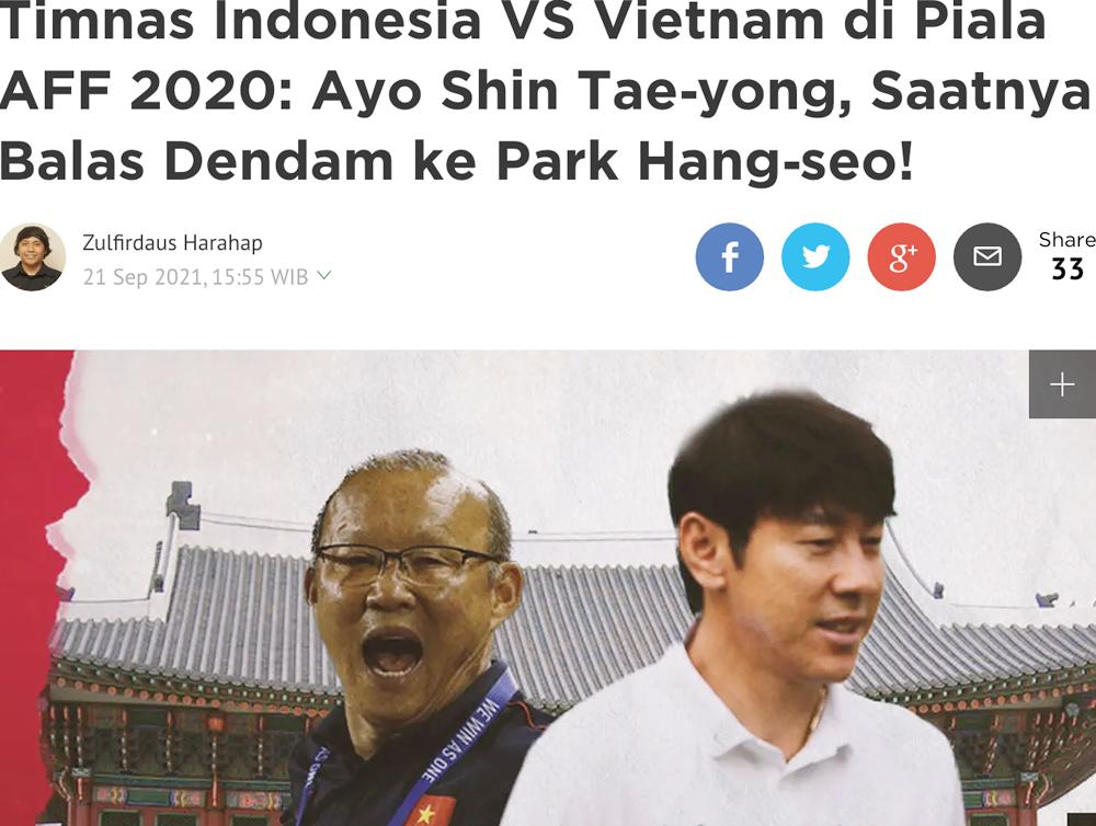 AFF Cup 2020: Chung bảng với ĐT Việt Nam, HLV Indonesia tuyên bố 'san bằng tất cả' 2