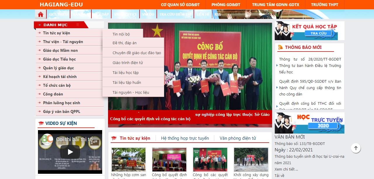 Tra cứu điểm thi THPT Quốc gia 2021 Hà Giang 2