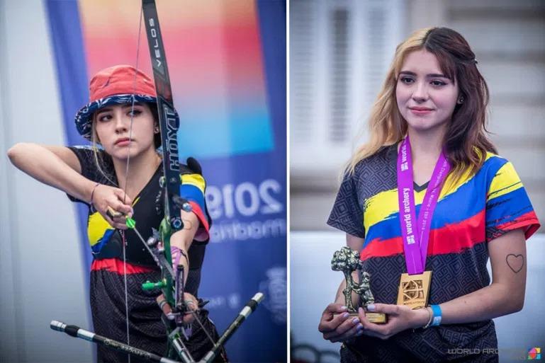 Vẻ đẹp thiên thần của nữ cung thủ Colombia tại Olympic Tokyo 2020 4