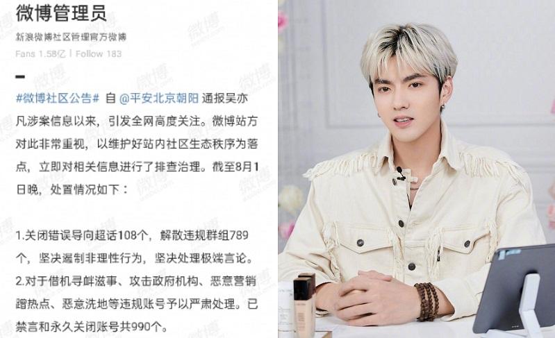 Ngô Diệc Phàm lập 3 kỷ lục mà nghệ sĩ Cbiz không ai dám theo: Bao thầu Weibo, Đỉnh lưu quốc tế, Phong sát toàn diện 3