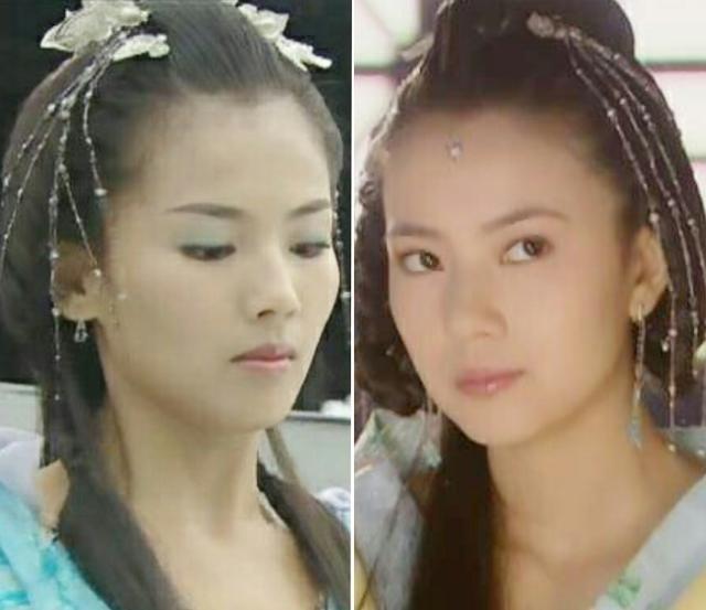 Đụng hàng tóc cổ trang: Lưu Diệc Phi 'chặt đẹp' Trương Hinh Dư, Triệu Lệ Dĩnh lép vế Lưu Thi Thi 1