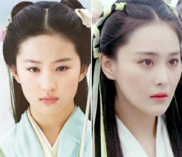 Đụng hàng tóc cổ trang: Lưu Diệc Phi 'chặt đẹp' Trương Hinh Dư, Triệu Lệ Dĩnh lép vế Lưu Thi Thi 2