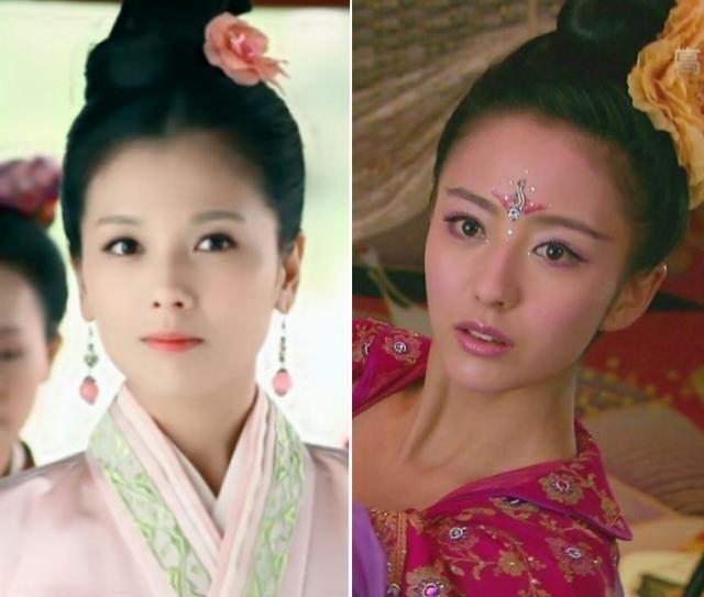 Đụng hàng tóc cổ trang: Lưu Diệc Phi 'chặt đẹp' Trương Hinh Dư, Triệu Lệ Dĩnh lép vế Lưu Thi Thi 5