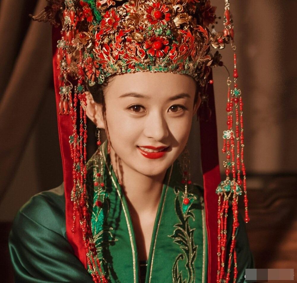 Dương Mịch, Lệ Dĩnh, Diệc Phi, Đường Yên... xúng xính trong trang phục tân nương cổ trang 7