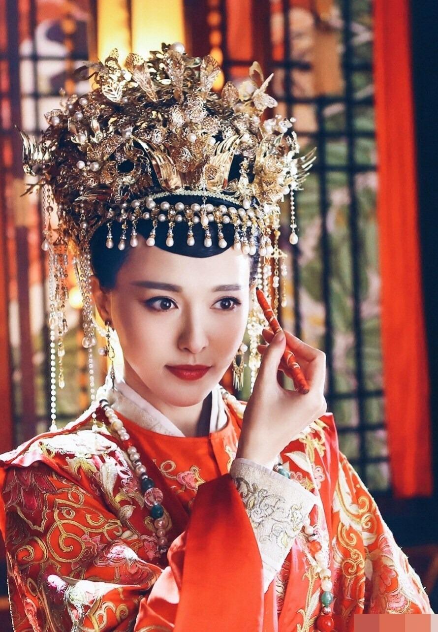 Dương Mịch, Lệ Dĩnh, Diệc Phi, Đường Yên... xúng xính trong trang phục tân nương cổ trang 10