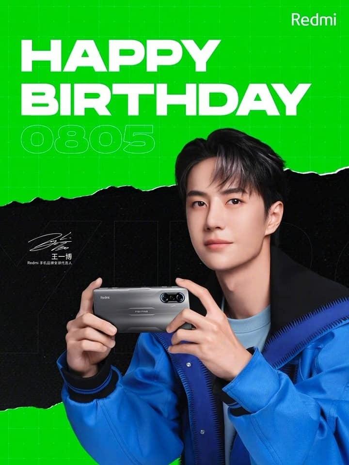 Vương Nhất Bác nhận quà sinh nhật siêu 'khủng' từ nhà Redmi 4