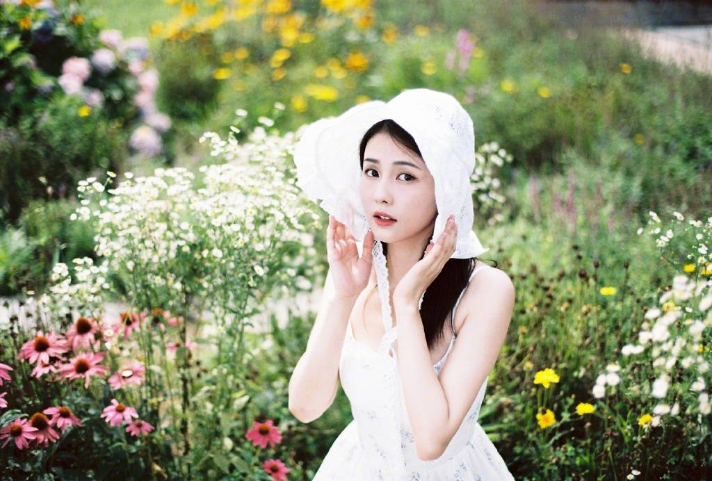 Bạch Lộc hóa 'nai trắng', khoe vẻ đẹp tinh khôi trong bộ ảnh mới 7