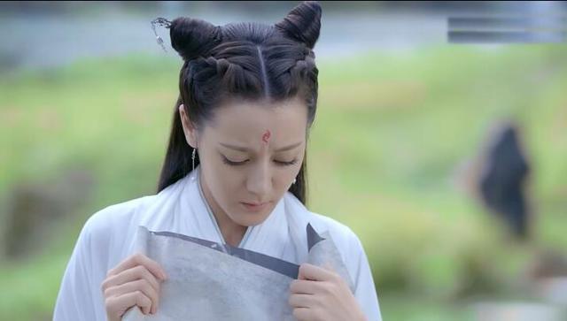 Địch Lệ Nhiệt Ba xấu xí trong tạo hình cổ trang, nhưng vẫn còn thua xa 3 mỹ nữ trong một bộ phim huyền thoại 3