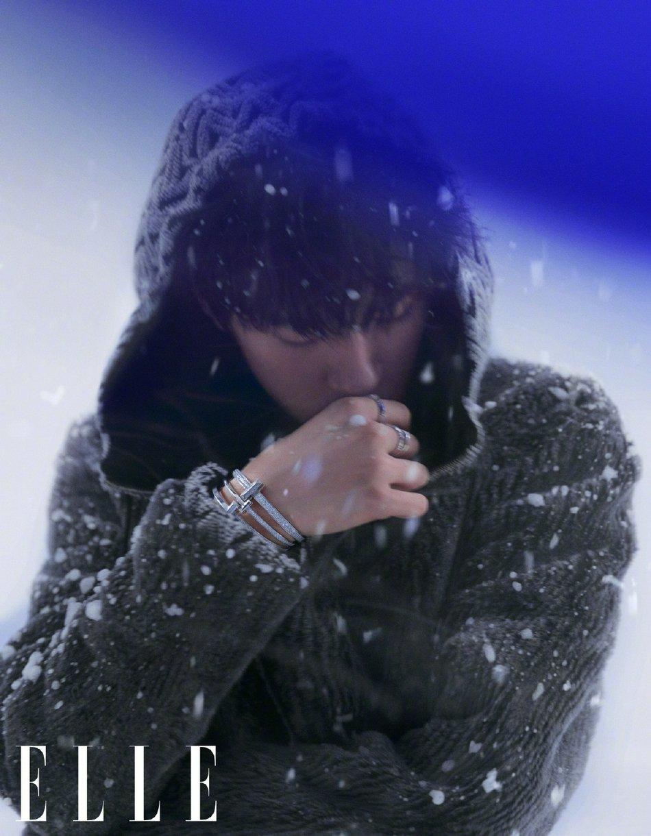 Dịch Dương Thiên Tỉ lập kỳ tích trên bìa Elle kim cửu khiến fan nở mặt  11