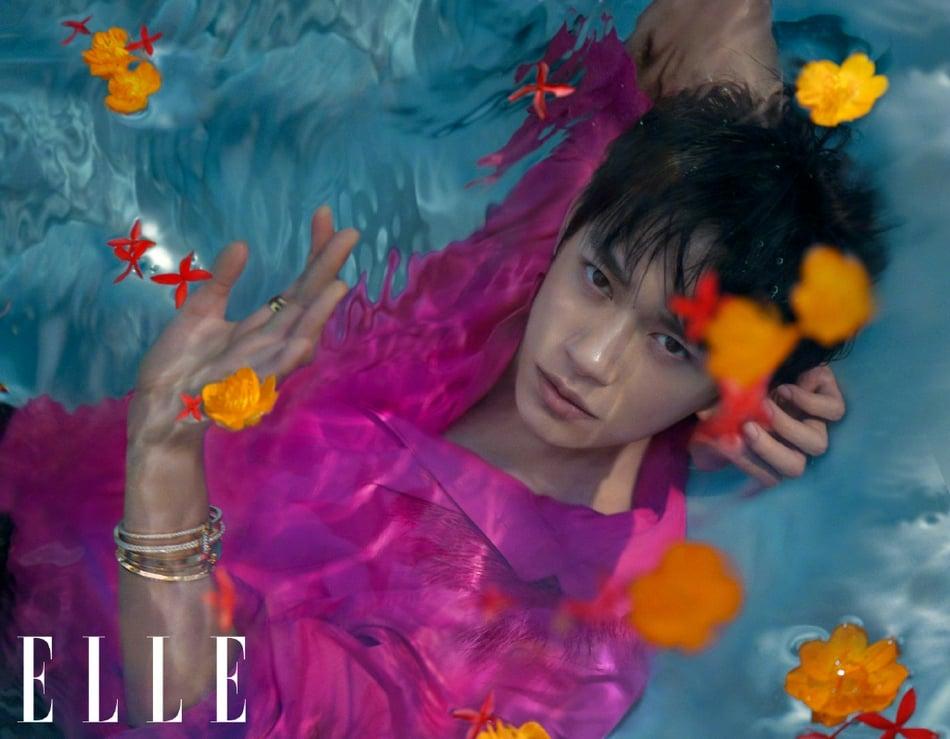 Dịch Dương Thiên Tỉ lập kỳ tích trên bìa Elle kim cửu khiến fan nở mặt  12