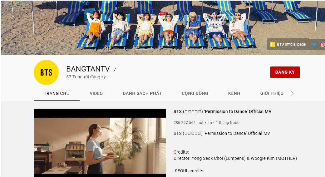 15 kênh YouTube của nghệ sĩ Kpop có thu nhập cao nhất năm 2021 4