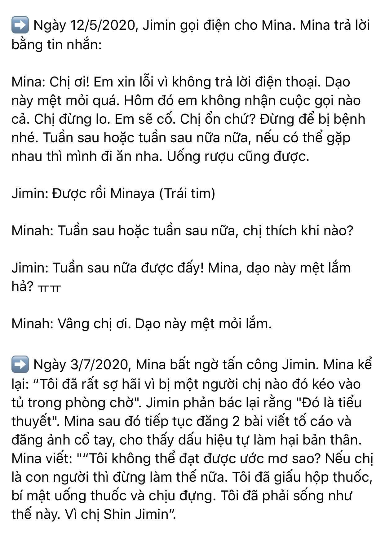 Dispatch khui toàn bộ hội thoại trong buổi gặp mặt AOA: Mina trở thành kẻ cố chấp thích đóng vai nạn nhân 2