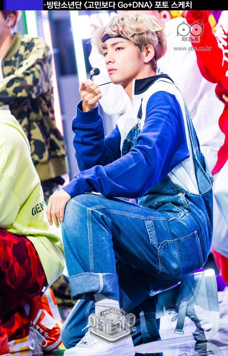 V(BTS) đích thị fan cuồng quần yếm: Thích trẻ trung, đáng yêu hay quyến rũ, gợi cảm anh đều cân đẹp 15