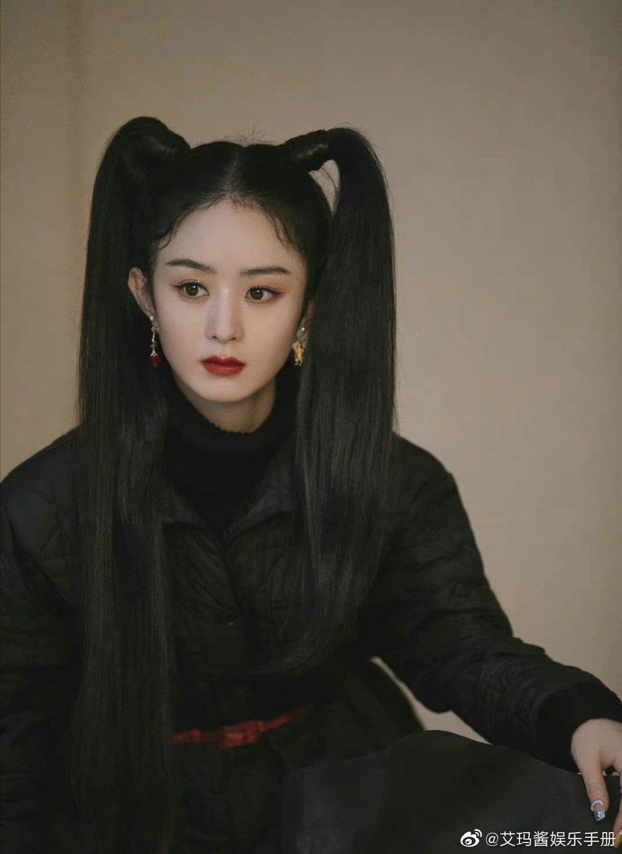 15 mỹ nhân Cbiz để tóc 2 chùm: Dương Mịch tựa nữ thần, Lệ Dĩnh như Maleficent 1