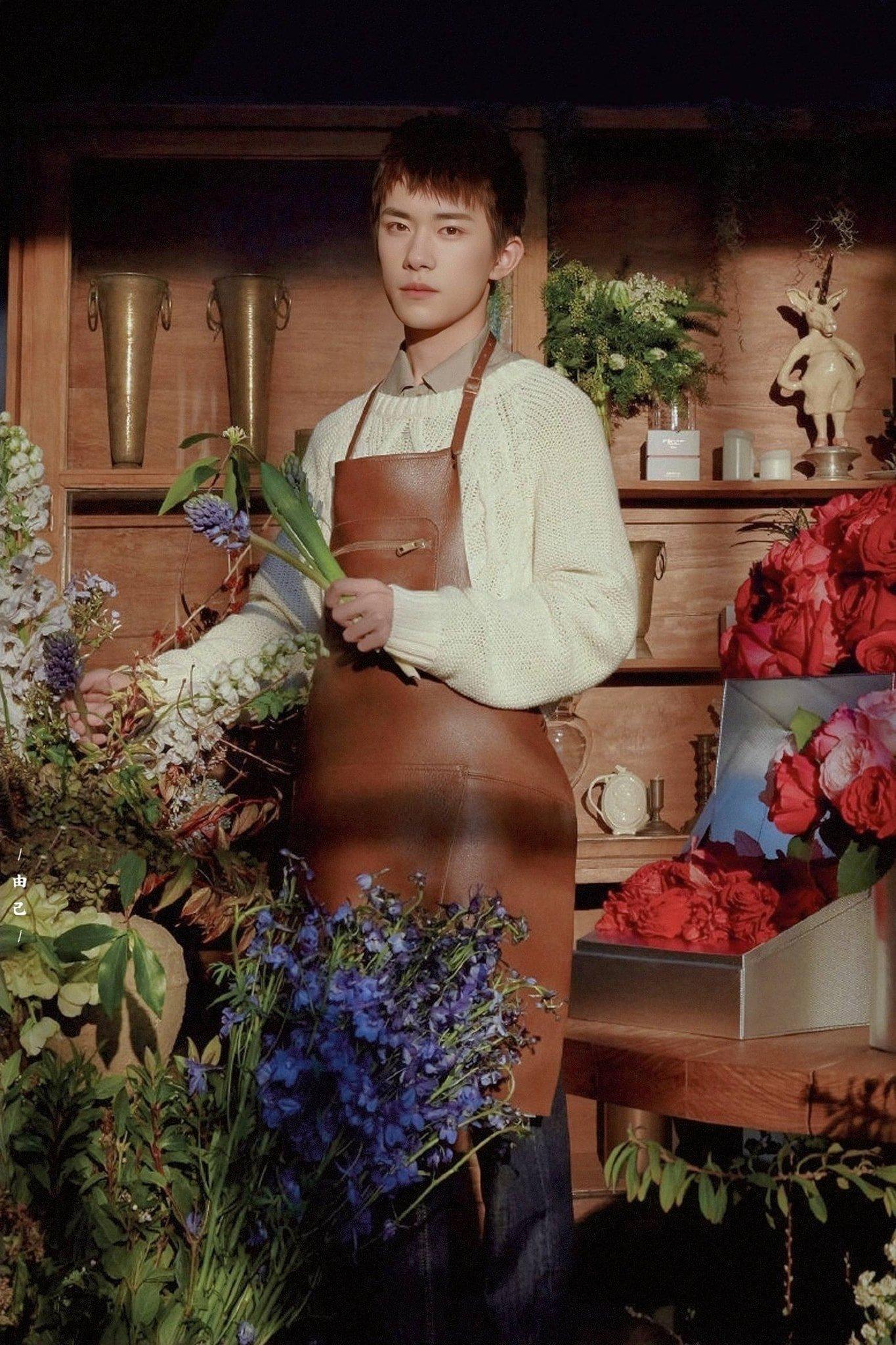 12 trai đẹp Cbiz cầm hoa tỏ tình, chàng trai nào khiến bạn gật đầu nguyện ý? 8