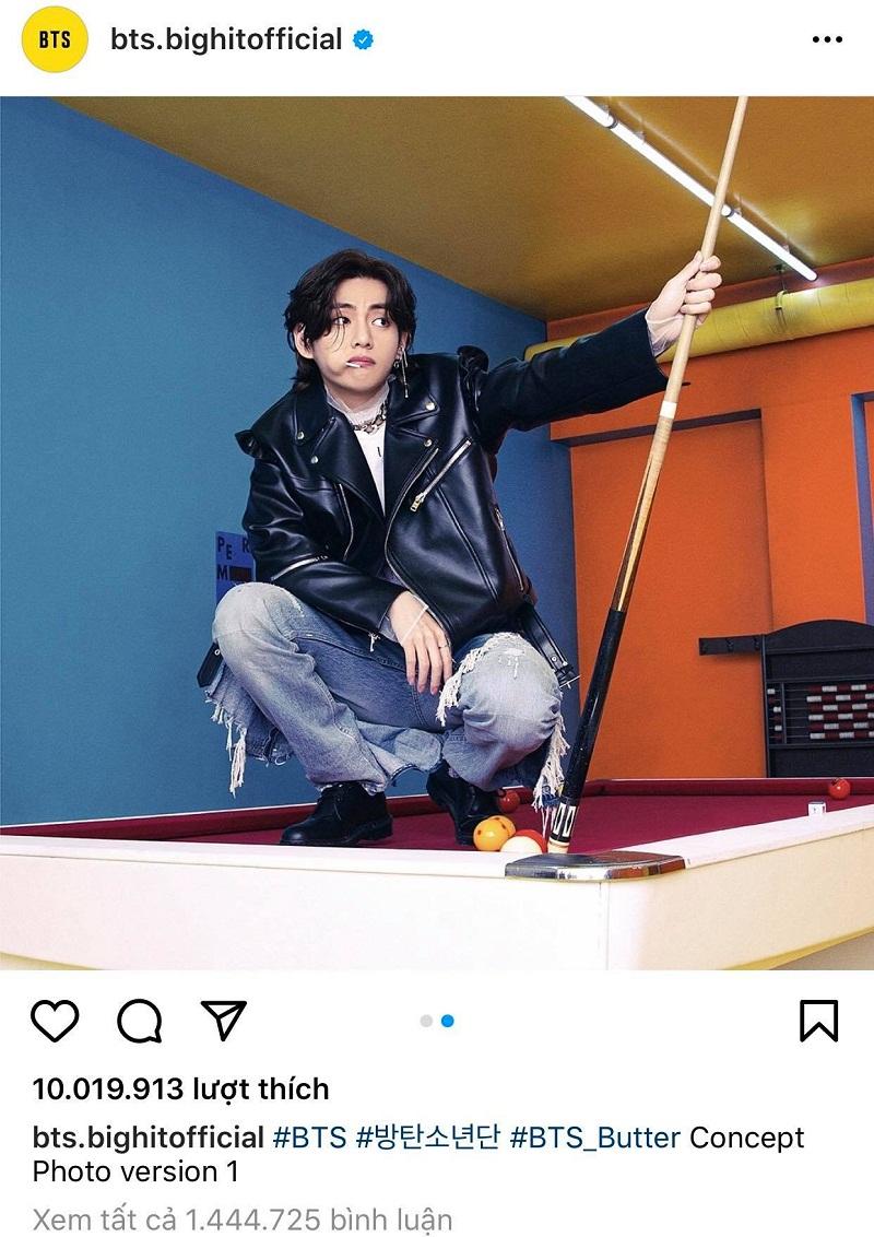 Rượt đuổi ngoạn mục, Jennie (BLACKPINK) lại vừa soán ngôi V BTS trên mặt trận Instagram 3