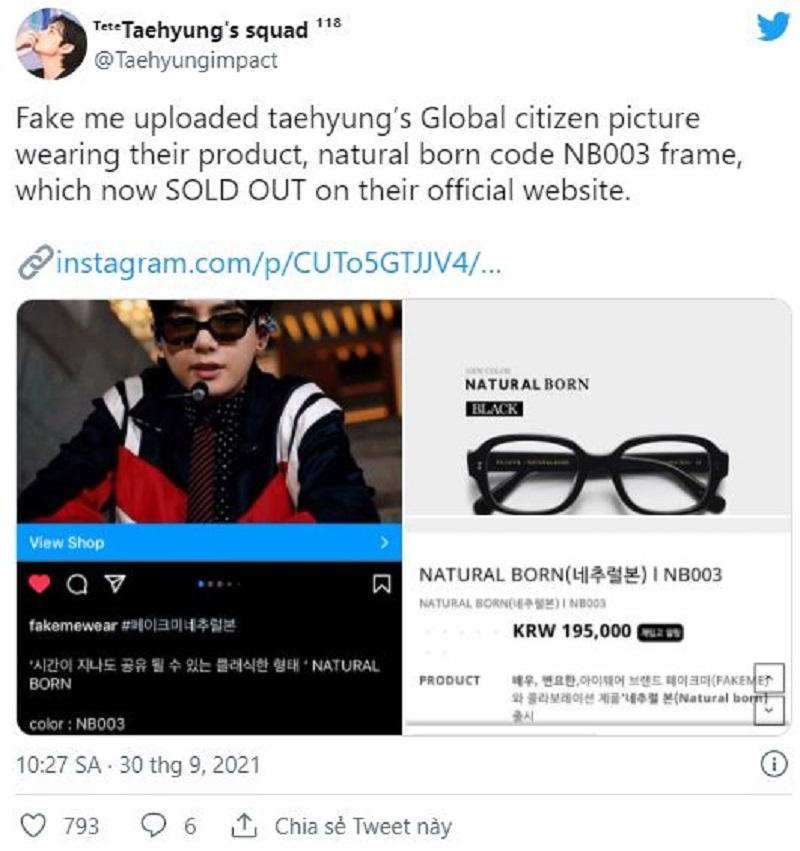 'Ông hoàng Sold Out' V BTS vừa 'phù phép' trên thảm đỏ TMA khiến các trang phục 'cháy hàng' khét lẹt 3