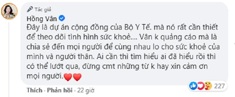 Không biết 'mình làm gì sai để bị cấm sóng', Hồng Vân được netizen 'đả thông trí nhớ' 2