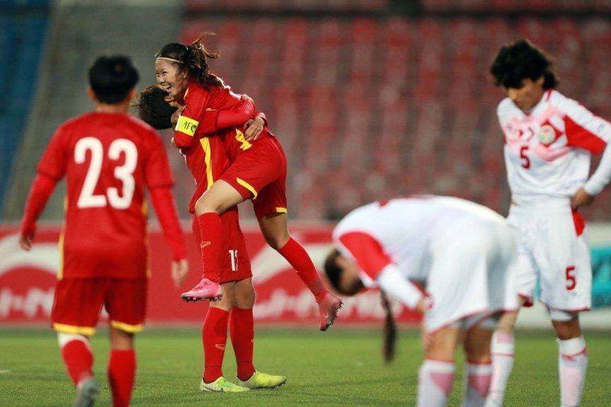 Đại thắng 7-0, ĐT nữ Việt Nam lập kỷ lục đáng kinh ngạc, hiên ngang giành vé dự Asian Cup 2022 1