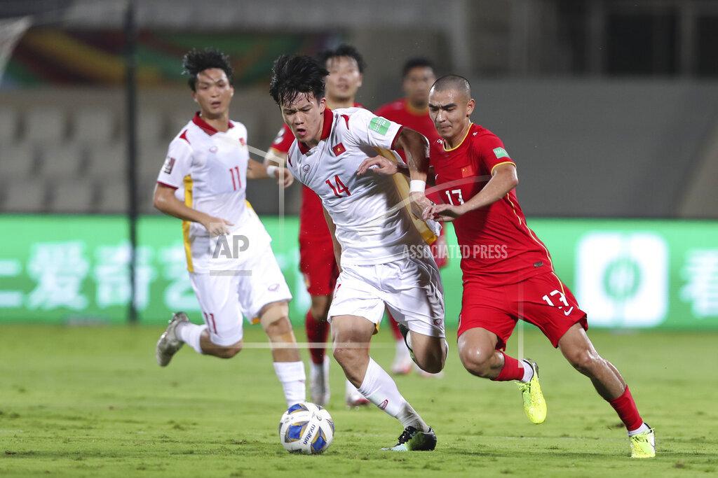 Kết quả Việt Nam vs Trung Quốc: Tấn Tài, Tiến Linh tỏa sáng, 'cầm vàng còn để vàng rơi' 2
