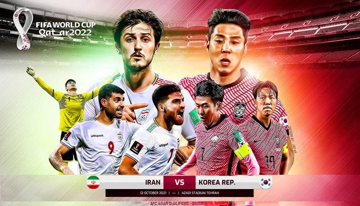Nhận định Iran vs Hàn Quốc (20h30, 12/10) vòng loại World Cup 2022: Lịch sử chống lưng chủ nhà 1