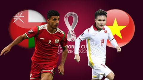 Link xem trực tiếp bóng đá Oman vs Việt Nam (23h00, 12/10) vòng loại World Cup 2022 1