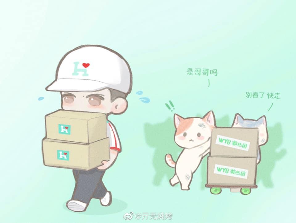 Netizen tặng 'mưa lời khen' cho Vương Nhất Bác trước hành động xuống tận tiền tuyến từ thiện 1