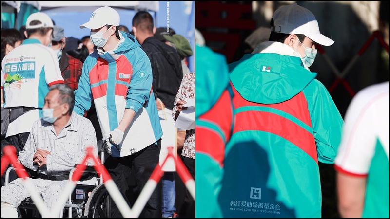 Netizen tặng 'mưa lời khen' cho Vương Nhất Bác trước hành động xuống tận tiền tuyến từ thiện 6