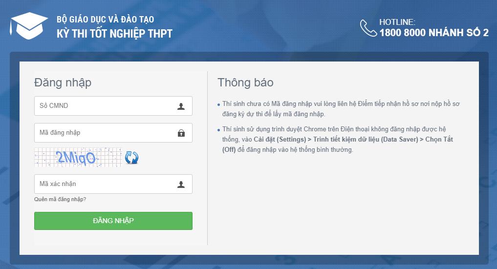 Tra cứu điểm thi THPT quốc gia 2021 tỉnh Kon Tum theo SBD, nhanh chính xác 2