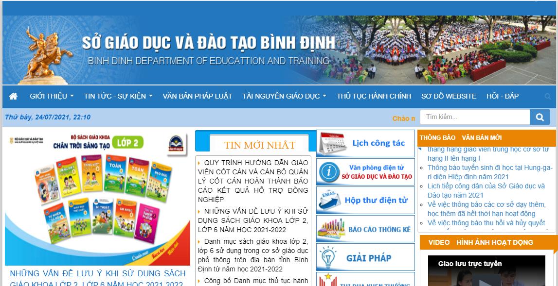 Tra cứu điểm thi THPT quốc gia 2021 tỉnh Bình Định theo SBD nhanh, chính xác 1