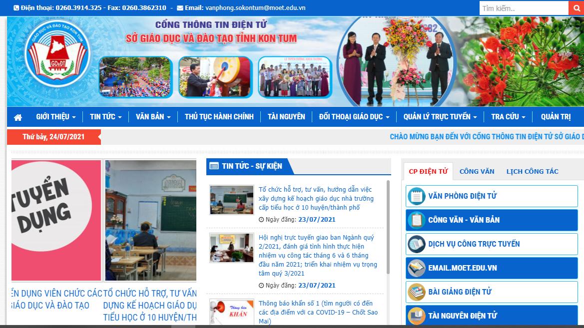 Tra cứu điểm thi THPT quốc gia 2021 tỉnh Kon Tum theo SBD, nhanh chính xác 1