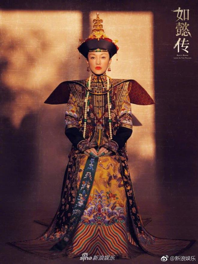 Sao Trung đọ sắc với cổ phục: Dương Mịch đẹp đến nao lòng, Nhiệt Ba trên cả xuất sắc, Châu Tấn đúng 'thành lũy' 9