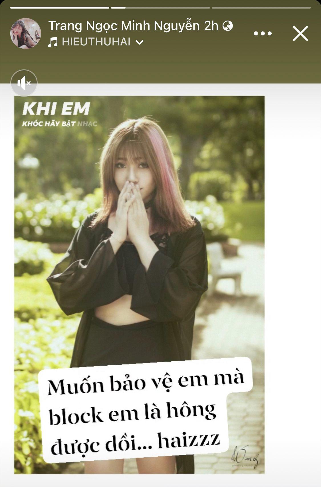 Bị khịa cố tỏ ra đáng thương hậu ly hôn Vinh Râu, Lương Minh Trang phản pháo 'cực gắt' khiến anti 'cứng họng' 1
