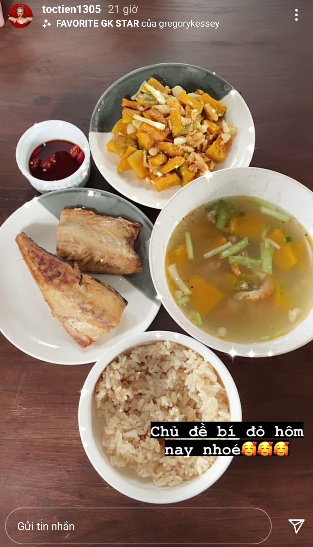 Ờ nhà tránh dịch, nếu không muốn thành 'heo sữa' thì phải ghim ngay 6 thực đơn giảm cân của sao Việt 5