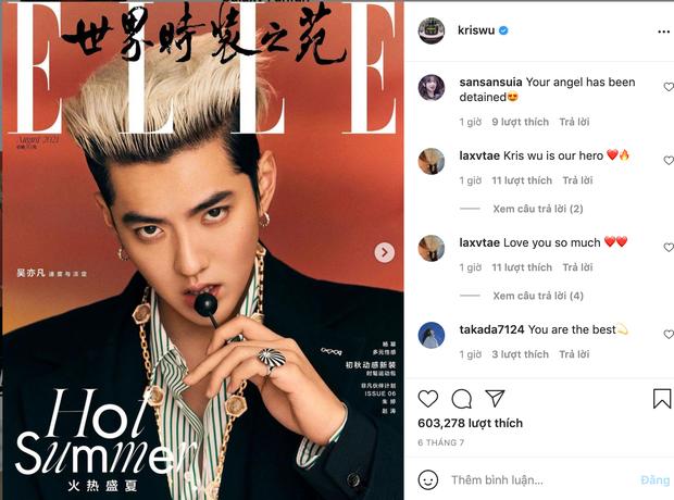 Khó thế cũng làm được: Weibo bị khóa, fan Ngô Diệc Phàm lại tràn sang Instagram để hỏi thăm: 'Chúng em tin tưởng sự trong sạch của anh' 5