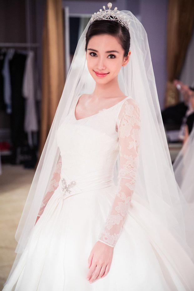 Nữ thần Cbiz khoe visual nức nở trong váy cưới: Nhiệt Ba, Tịnh Y đẹp 'nhức nách', Dương Mịch bỏ bùa Cnet 3
