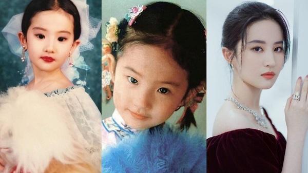Thời 'búp măng non' của sao Hoa ngữ: Nhiệt Ba xinh như công chúa, Dương Mịch 'sinh ra vạch đích' 5