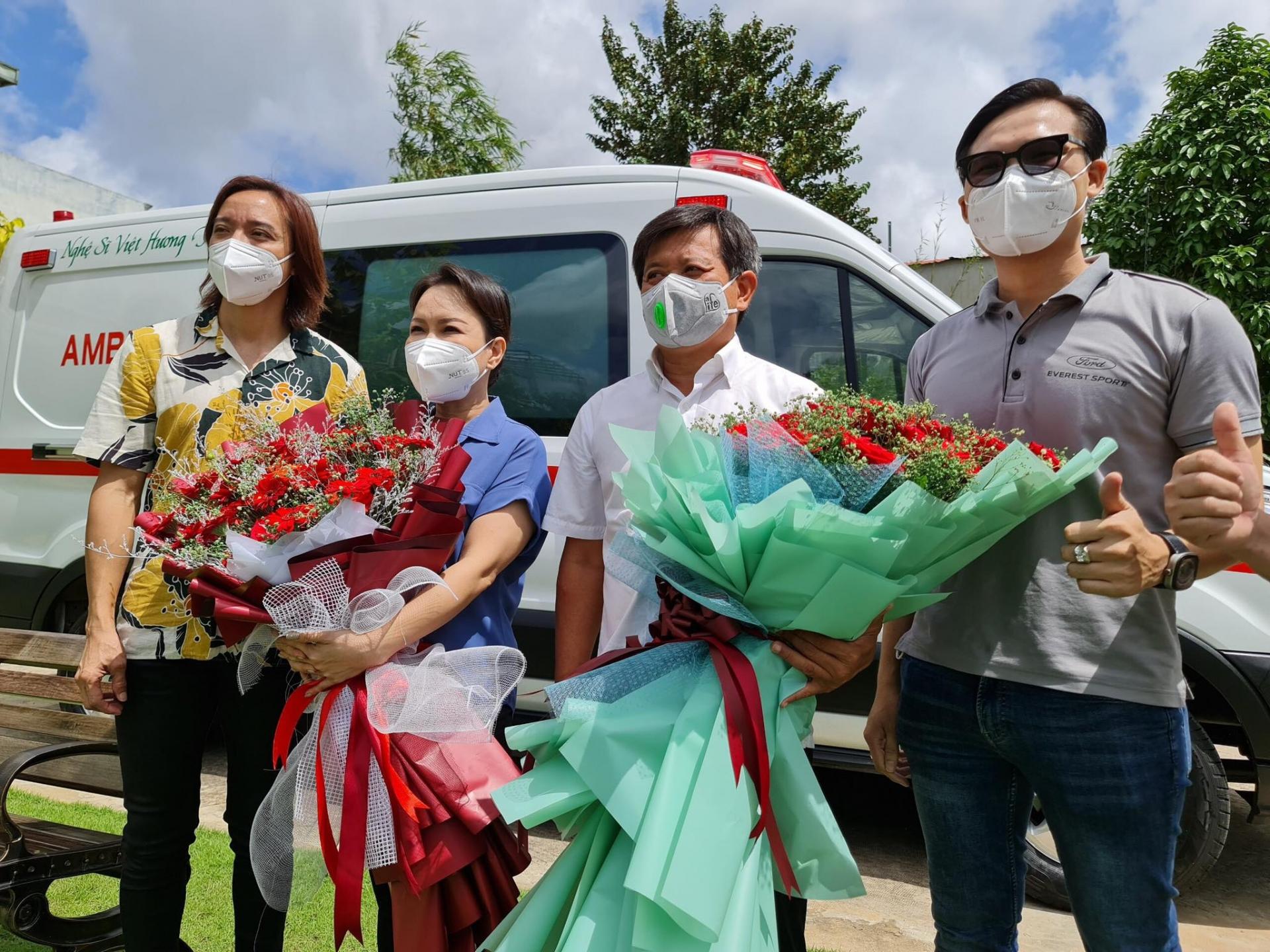 Việt Hương chi thêm số tiền 'khủng' để mua container làm phòng lạnh y tế 5