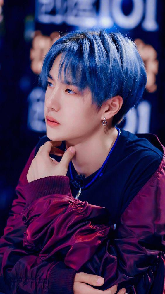 Nam thần Hoa ngữ lột xác với màu tóc xanh 3