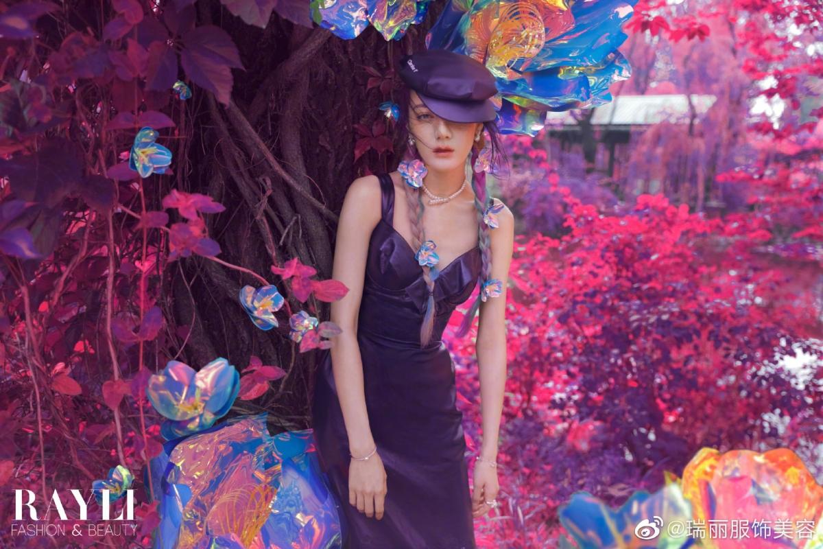Mỹ nhân Cbiz điểm hoa lên mặt: Nhiệt Ba, Angela Baby xinh 'nhức nhối', Dương Mịch, Lộ Tư hóa 'nàng thơ' 3