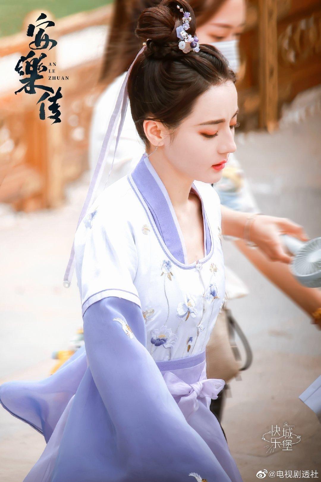 Địch Lệ Nhiệt Ba khoe làn da 'phát sáng' ở hậu trường An Lạc Truyện, visual 'tiên tỷ' nhấn chìm mọi drama Cbiz 5
