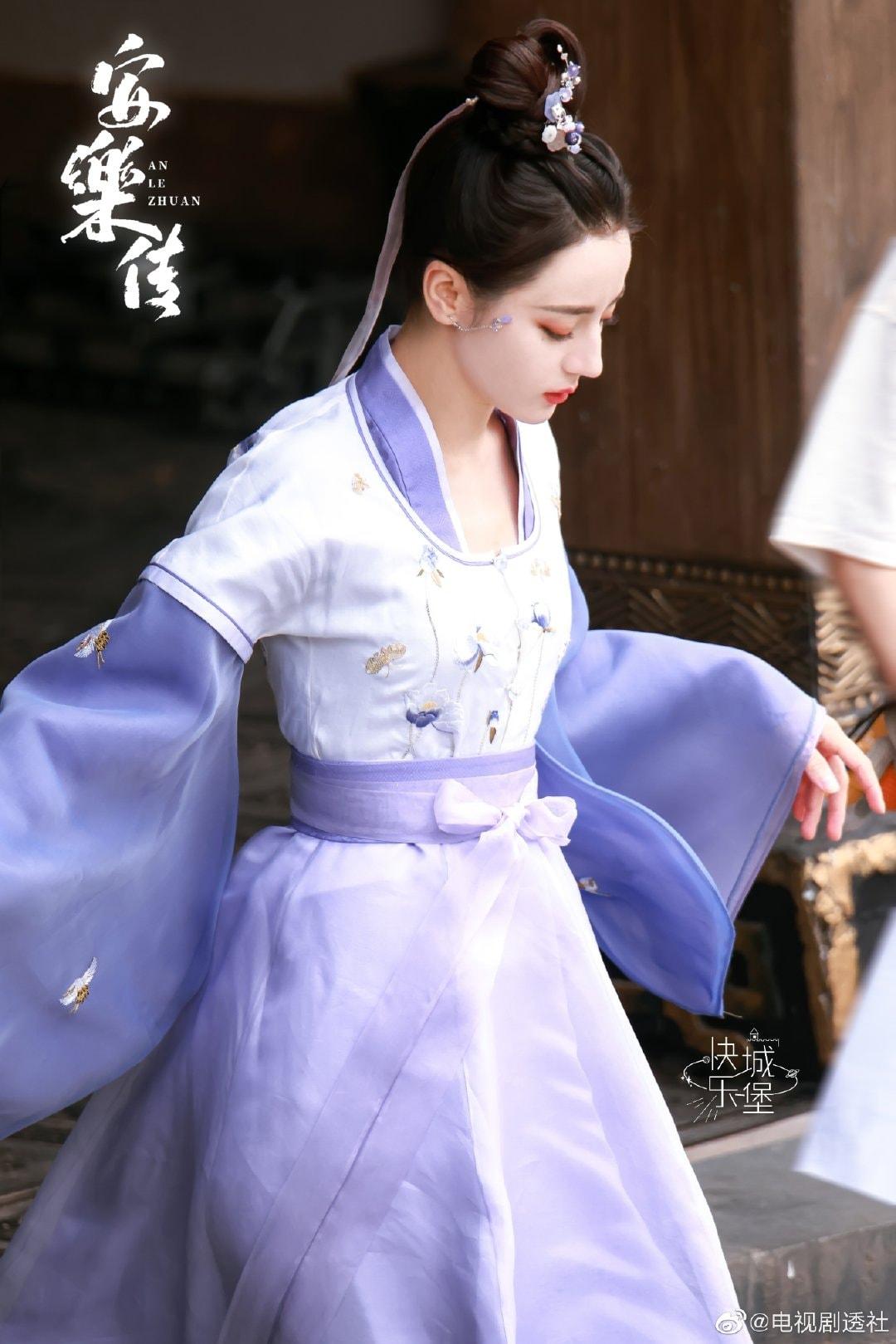 Địch Lệ Nhiệt Ba khoe làn da 'phát sáng' ở hậu trường An Lạc Truyện, visual 'tiên tỷ' nhấn chìm mọi drama Cbiz 2