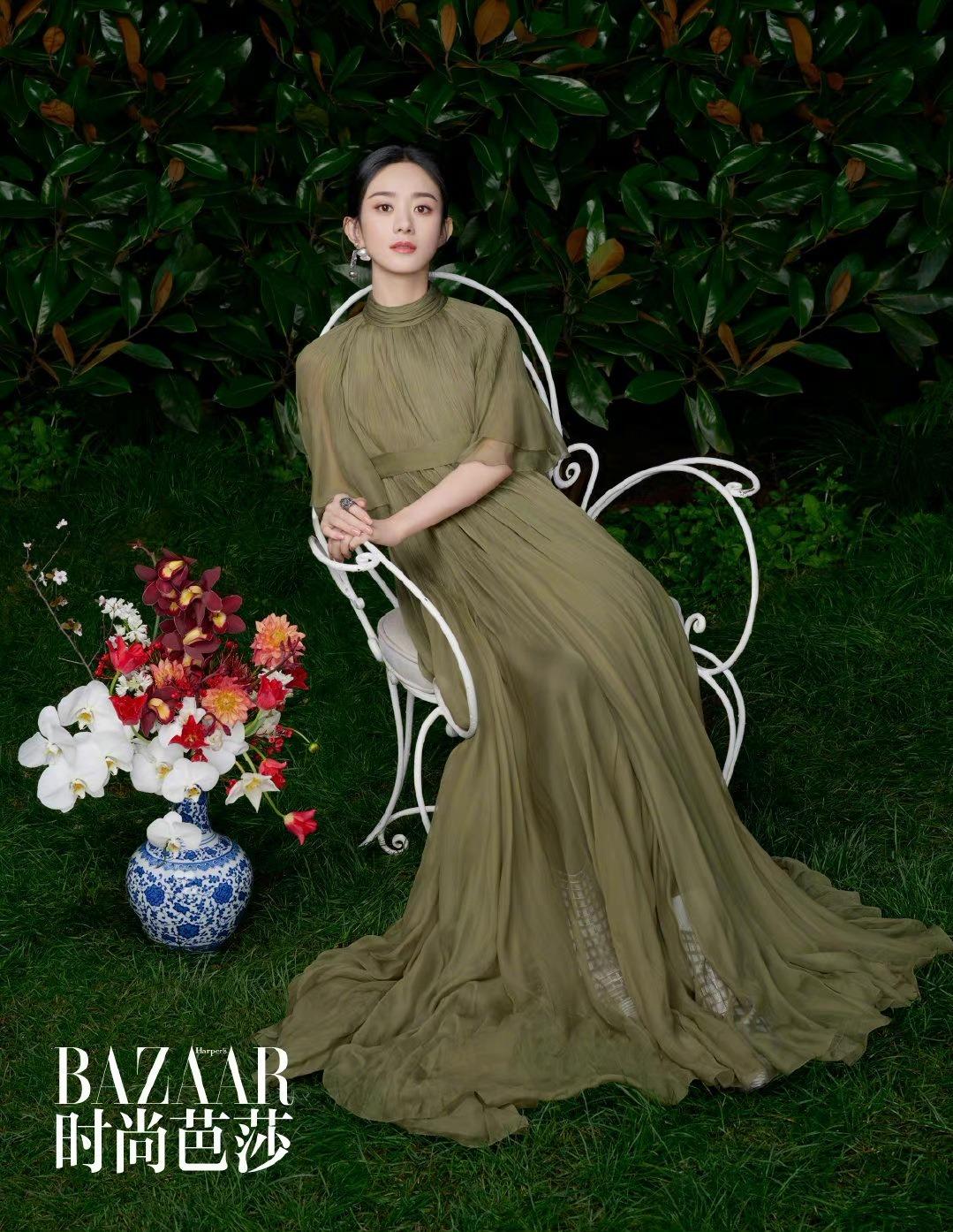 Phong cách thời trang chuẩn 'đẳng cấp quốc tế' của Triệu Lệ Dĩnh, dát Haute Couture đều như cơm bữa 4
